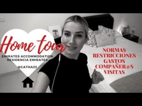 HOME TOUR | EMIRATES ACCOMMODATION | MI CASA ♥