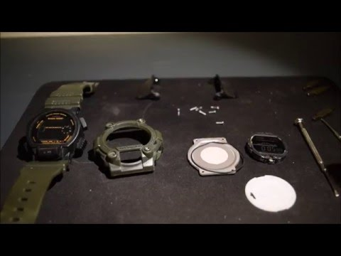 G-shock Watch Fix - Unresponsive Buttons