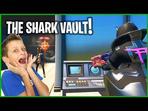 OPENING THE VAULT AT THE SHARK
