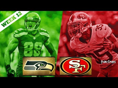 San Francisco 49ers VS Seattle Seahawks Week 12 NFL 2017 Pos