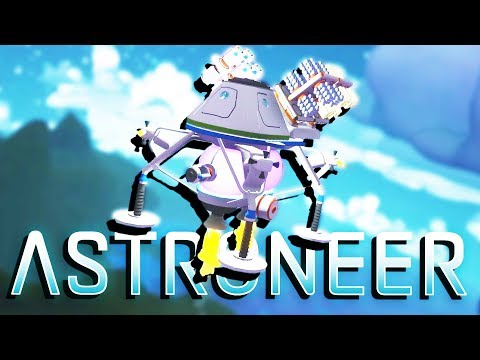 BUILDING the HUGE SPACE SHIP and LEAVING EARTH! - Astroneer Gameplay
