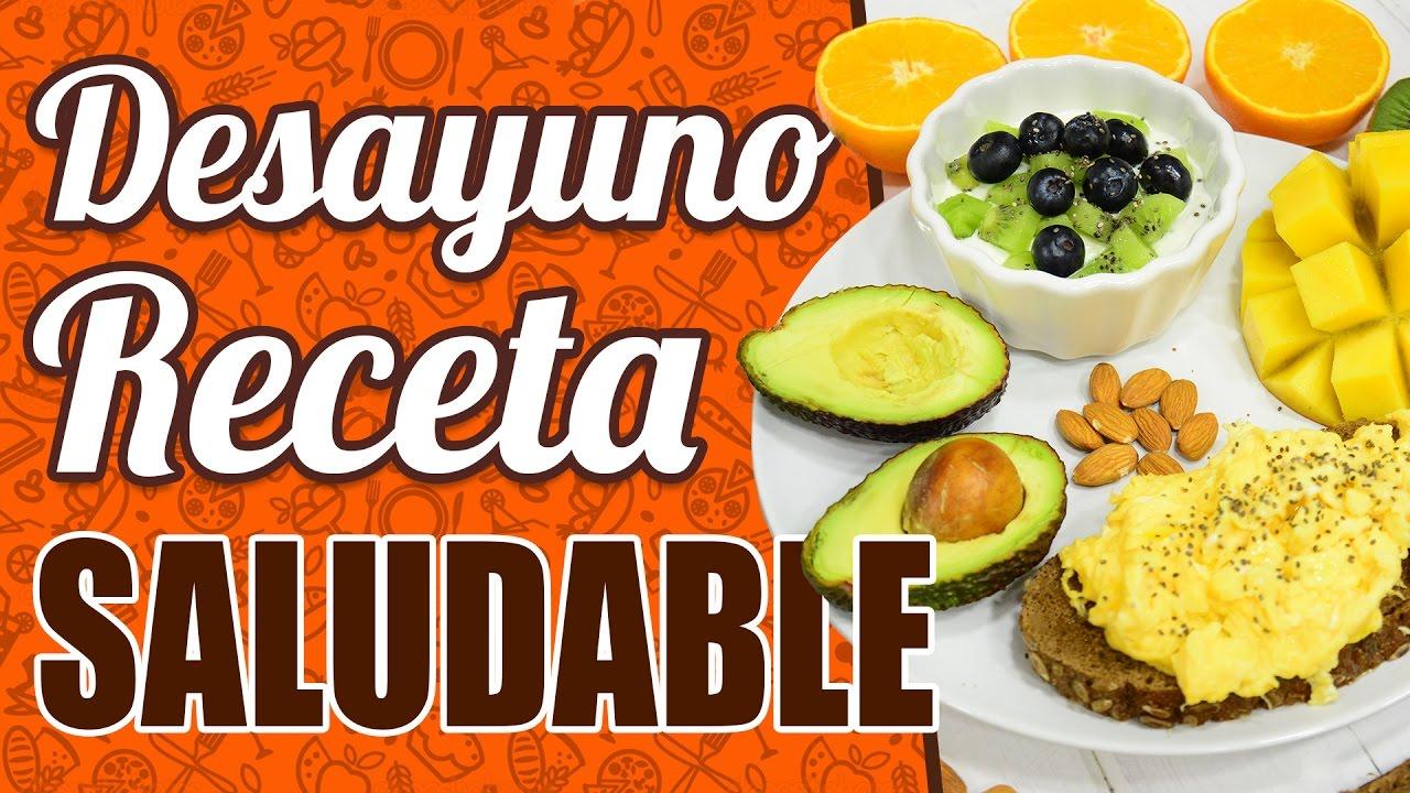 Recetas de desayunos nutritivos y rapidos