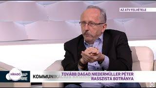 Tovább dagad Niedermüller Péter rasszista botránya