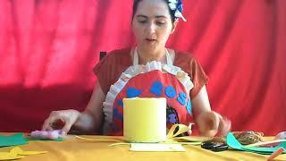 Gambar cover Hora da Arte - Lata  decorada em E.V.A - Com Tia Rose