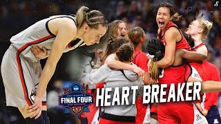 Paige Bueckers & UConn Huskies Fall Short To Arizona & Aarion McDonald #MarchMadness