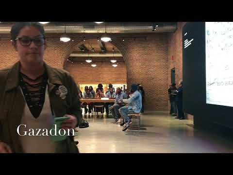 Bunji garlin unplugged live at Apple store in Williamsburg 8/31/17