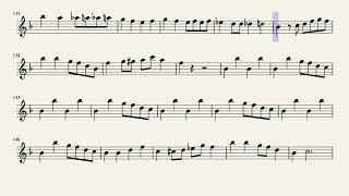 Yakety Sax, Boots Randolph, Alto Sax Sheet Music