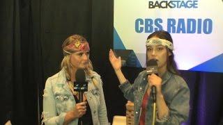 Bailey Bryan Interviews Miranda Lambert Backstage at the 2017 ACMs