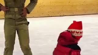 Татьяна Навка упала на льду