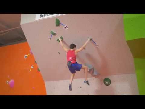 Jason's climbs from the 2018 Bouldering Divisionals