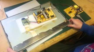 Repair LCD monitor CCFL test