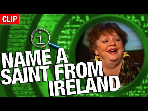 QI | Name A Saint From Ireland