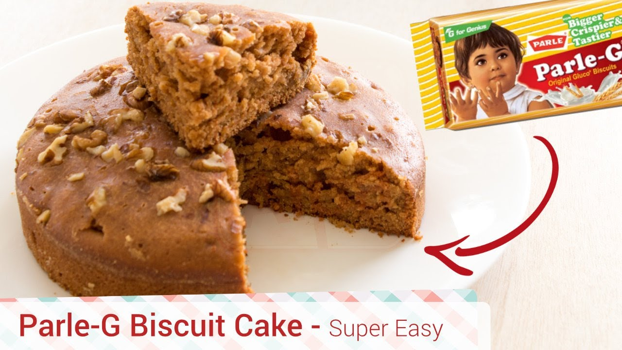 Best Parle-G Biscuit Cooker Cake Recipe - Easy, Cheap ...