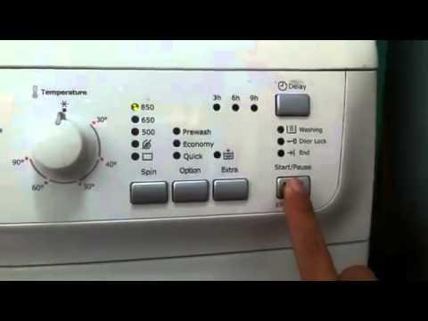 Hướng dẫn sử dụng máy giặt công nghiệp Electrolux