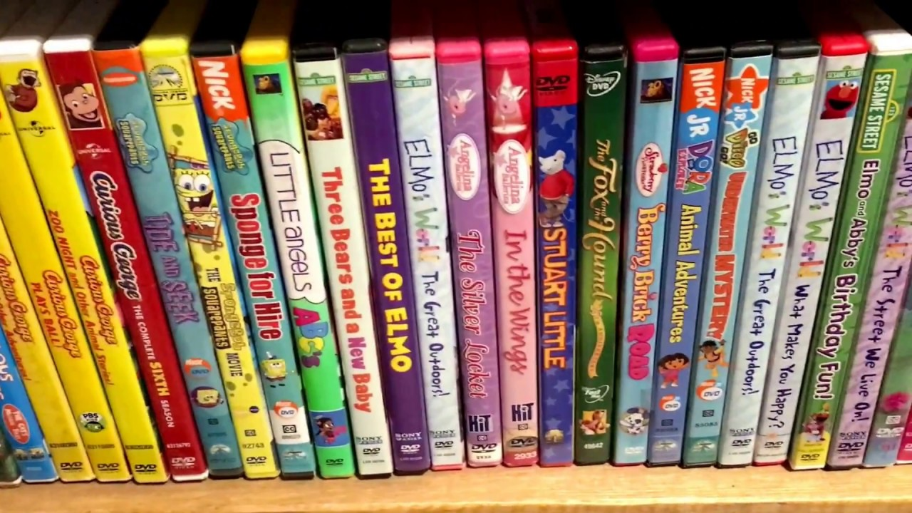 Kids Dvd Movie Collection 12 31 17 Dora The Explorer
