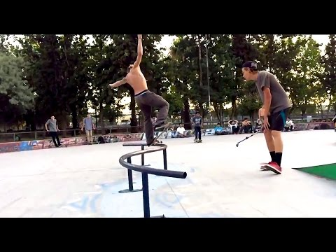 Shredding Bonilla Skatepark Santiago | Calling All Skaters Chile
