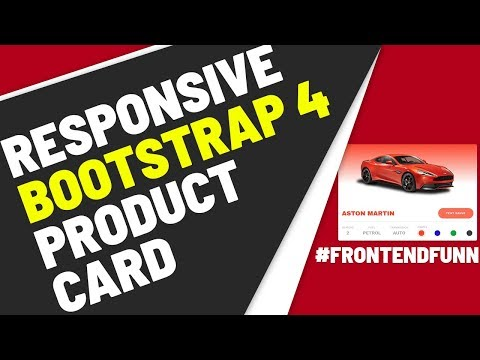 Product Card Tutorial - web development thumbnail