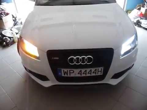 Lampy Led Audi A3 Youtube