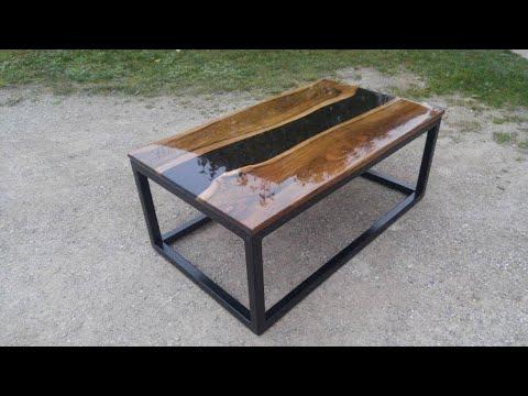 Epoxy resin table,Epoksi stol