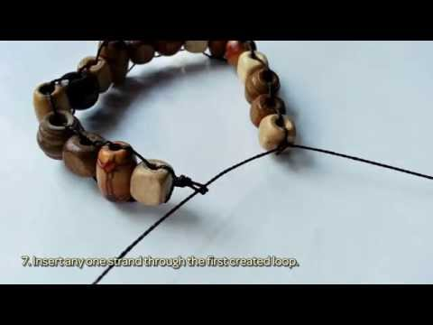 Wooden Beaded Bracelet Diy Crafts