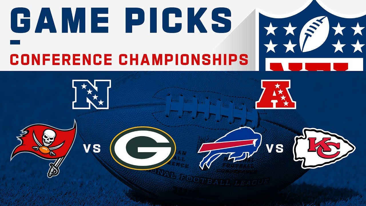 Conference Championships Game Picks! | NFL 2020