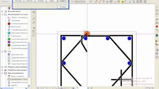 Allplan 2006 Конструирование   Армирование колонн   06  Шестиугольный хомут(, 2012-09-11T10:04:53.000Z)