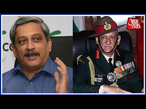Manohar Parrikar Backs Army Chief Bipin Rawat, Says 'Warning Justified'