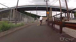 Fat Biking the Great Allegheny Passage, McKeesport to Homestead Pa., 7-13
