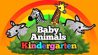 Zoo Wild Animals for kids, Safari Animals Baby Find Mom | Learn Animals Names and Sounds Puzzle