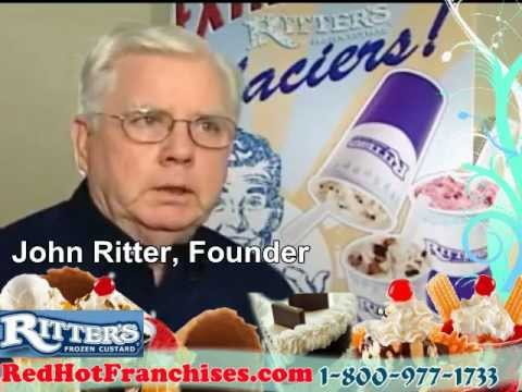 Ritter's Frozen Custard Ice Cream Store - Low Cost Small Business Franchise