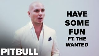"Pitbull Discusses  ""Have Some Fun (ft. The Wanted)"""