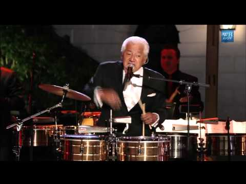 Sheila E. & Pete Escovedo at In Performance at the White House: Fiesta Latina
