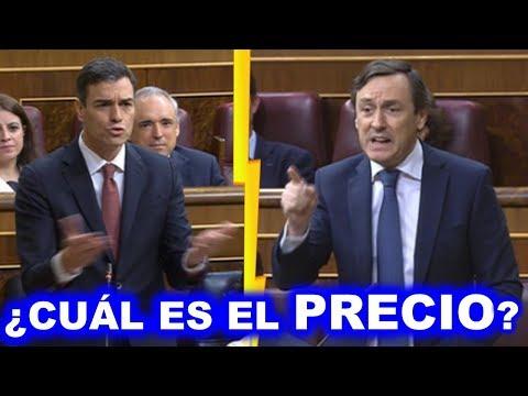 BRUTAL ATAQUE de Rafael HERNANDO a Pedro SÁNCHEZ por sus CONCESIONES a SEPARATAS