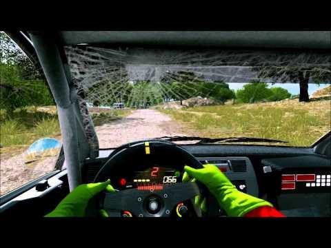 WRC 3 Cockpit Cam - Philips Rally Argentina - Argentinien Einzeletappe - Mitsubishi Lancer EVO IX
