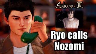 SHENMUE 3 - Ryo calls Nozomi Harasaki (Fun Conversation Easter Egg)