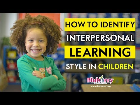 How to identify Social Interpersonal Learning Style in children