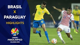brasil vs paraguay 2020