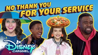 No Thank You For Your Service | Roll It Back | Just Roll with It | Disney Channel