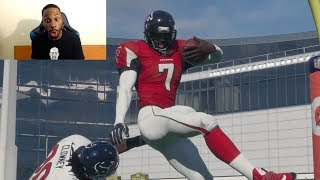 Who Can Score a 99yd QB Scramble TD First? Michael Vick, Cam Newton or RG3? Madden Gameplay!