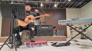 기타연주-실내 음악밴드 연습실 첫번째방문-양주