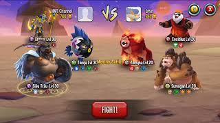 ✔️ Siêu nhân trâu Even L Monster Legends Game Mobiles Quái Vật Android Ios Thế Giới Quái Vật New 50