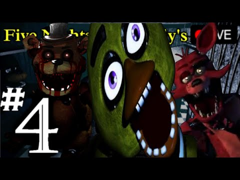 Five Nights At Freddy's - First Time Playthrough - Part 4