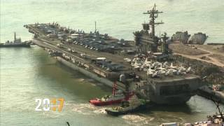 USS Carl Vinson เรือรบที่ทรัมป์ส่งไปเกาหลีเหนือ