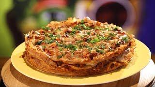 Рецепт недели: блинная лазанья