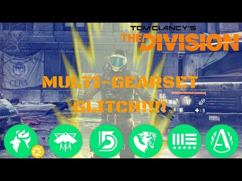 The Division l ***GAMEBREAKING*** 1.8.1 GEARSET GLITCH!!!! MASSIVE PLEASE FIX ASAP!!!!!