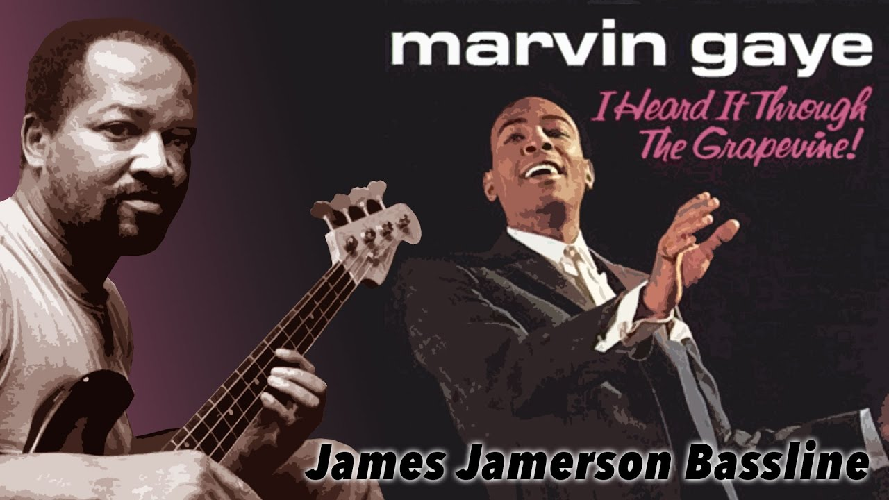 Motown Bass Line (James Jamerson) - I Heard it Through the Grapevine -  score, tab and play along
