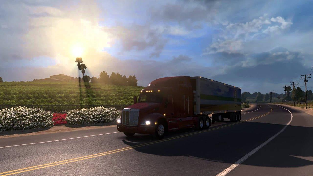 4k Car Wallpaper Free Download American Truck Simulator Gamescom 2015 Trailer Youtube