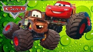 Мультики про Машинки. ТАЧКИ- Молния МАКВИН: Мэтр Монстр Трак. Monster Truck kids. #Мультик игра 2016