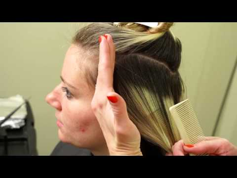 Client Consultation With Blonde Retouch Hair 101 Youtube
