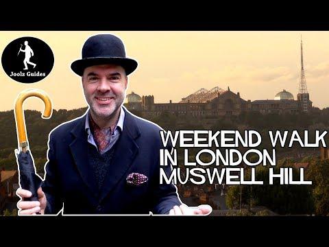 London Weekend Walks - Muswell Hill and Alexandra Palace